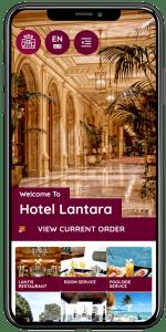 QR Hotel Menu Ordering Concierge App