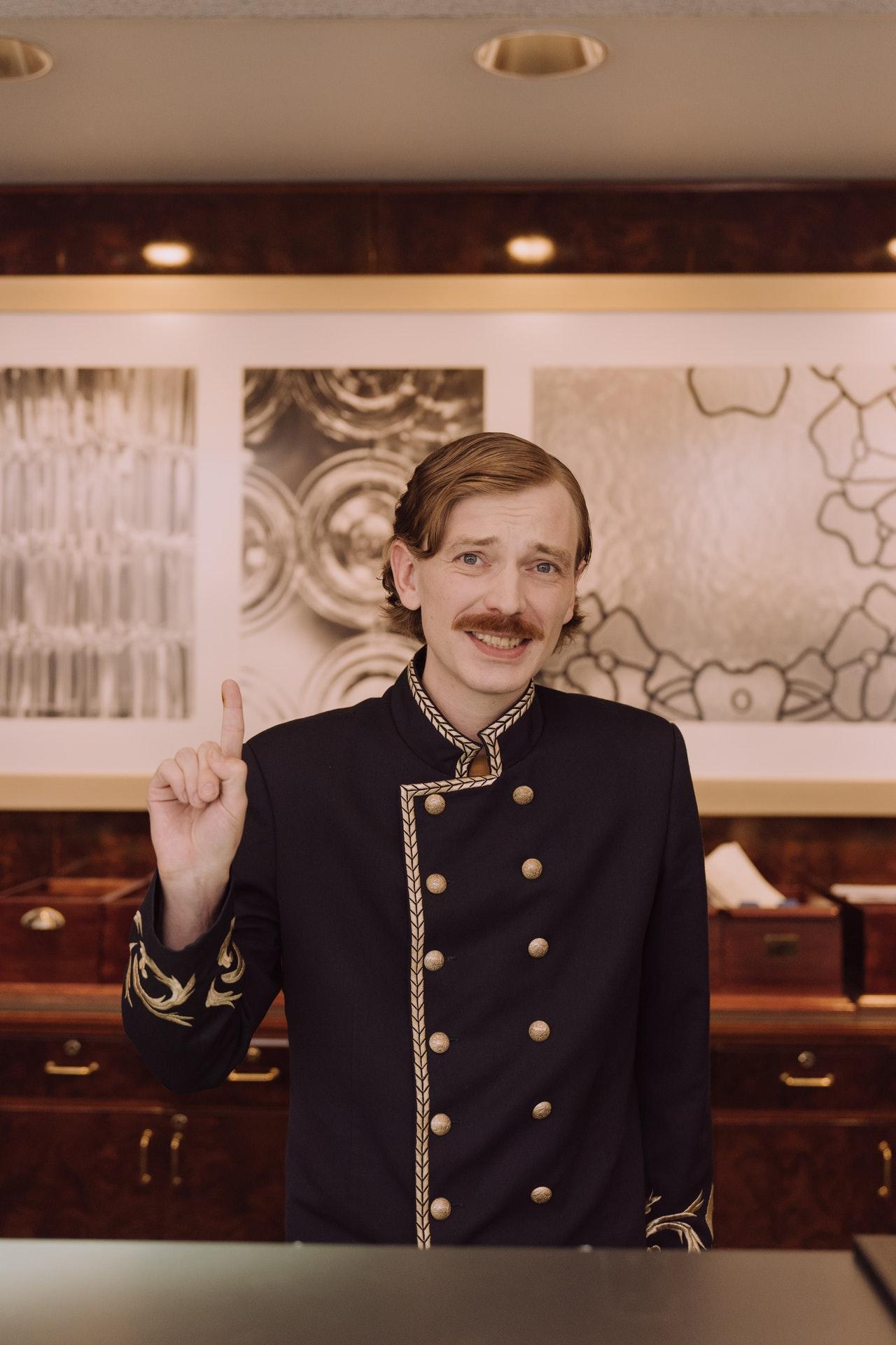 Hotel Concierge App Guest Ordering QR Menu