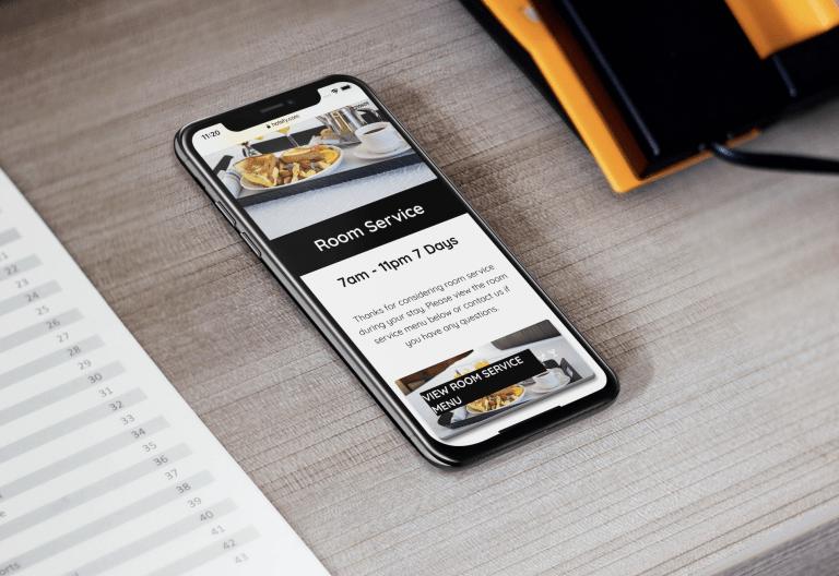 Hotefy Room Service App